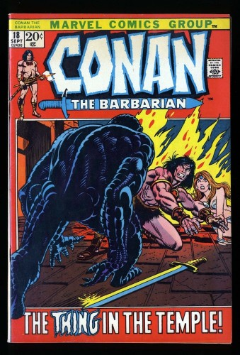 Conan The Barbarian #18 FN/VF 7.0