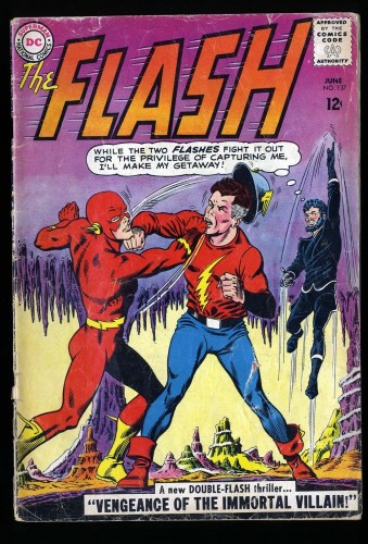 Flash #137 GD- 1.8 (1st Silver Age Vandal Savage)