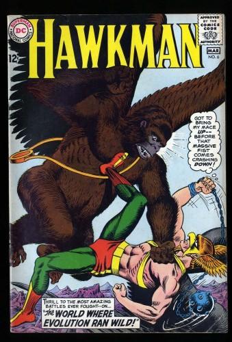 Hawkman #6 VG/FN 5.0