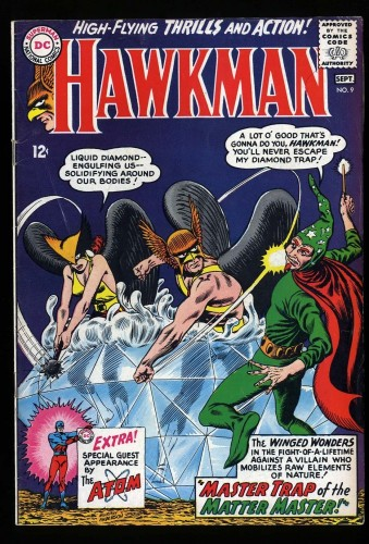 Hawkman #9 FN 6.0