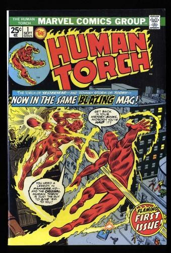 Human Torch #1 VF 8.0