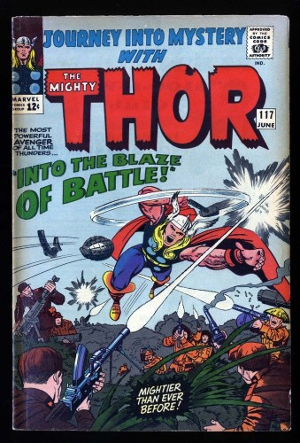 Journey Into Mystery #117 FN- 5.5 Thor! Marvel Comics Thor