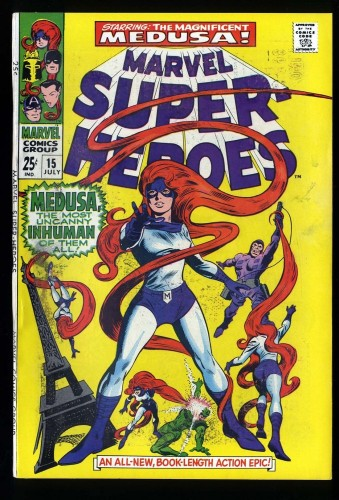 Marvel Super-Heroes #15 VG/FN 5.0