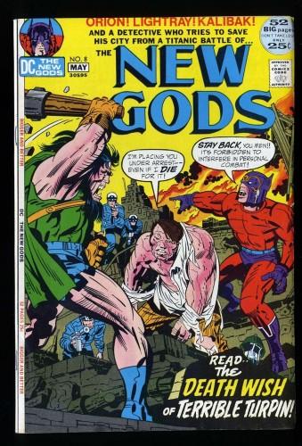 New Gods #8 NM- 9.2