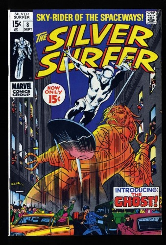 Silver Surfer #8 VF- 7.5