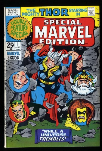 Special Marvel Edition #3 FN/VF 7.0