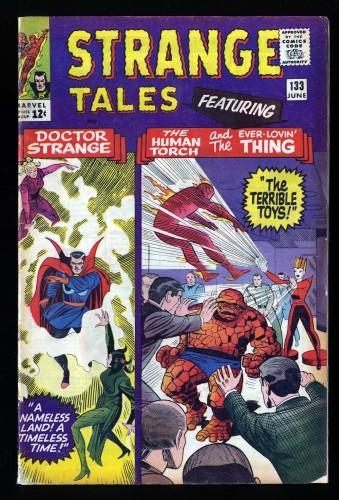 Strange Tales #133 VG 4.0