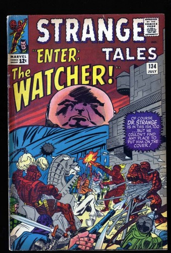 Strange Tales #134 VG/FN 5.0 The Watcher!
