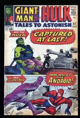 Tales To Astonish #61 VG/FN 5.0