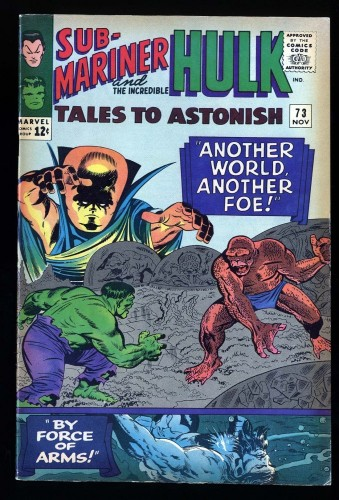 Tales To Astonish #73 VF- 7.5
