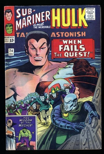 Tales To Astonish #74 FN 6.0