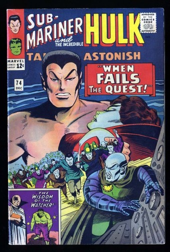 Tales To Astonish #74 FN+ 6.5