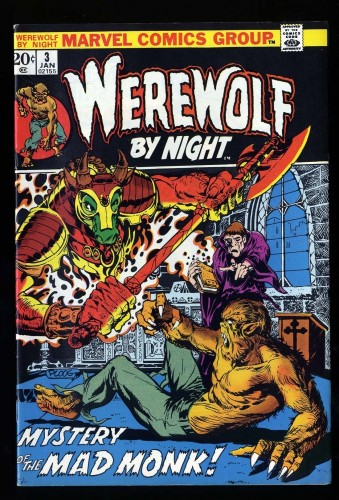 Werewolf By Night #3 VF- 7.5