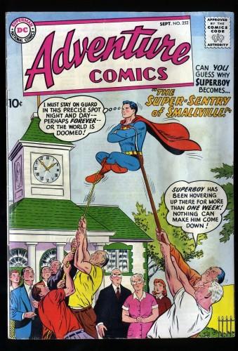 Adventure Comics #252 VG/FN 5.0