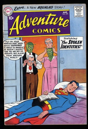 Adventure Comics #270 FN/VF 7.0