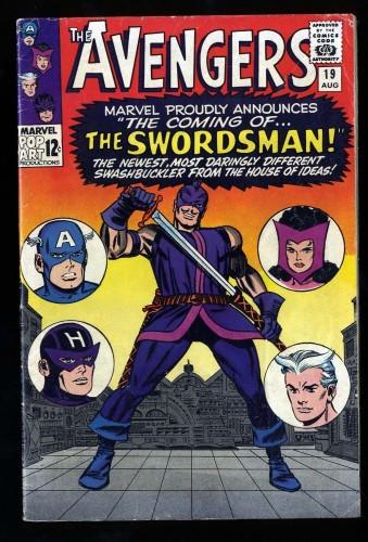 Avengers #19 FN- 5.5