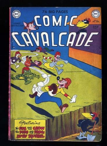 Comic Cavalcade #42 GD 2.0