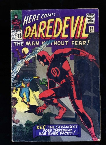Daredevil #10 GD/VG 3.0