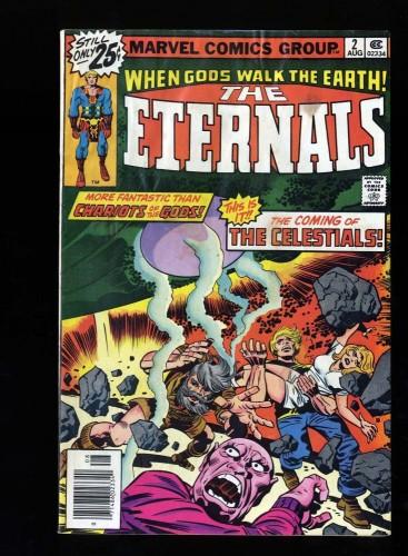 Eternals #2 GD/VG 3.0