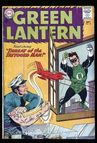 Green Lantern #23 VG 4.0