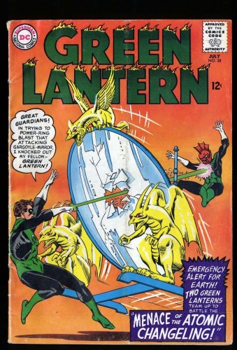 Green Lantern #38 GD/VG 3.0