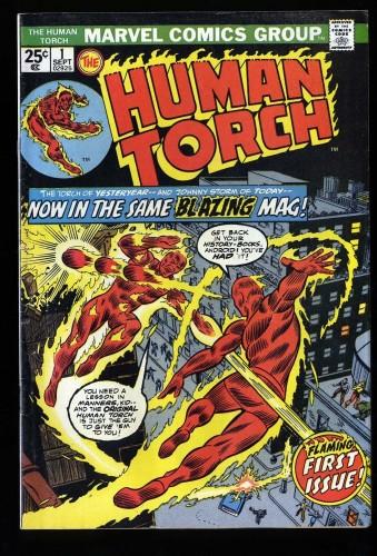 Human Torch #1 VG+ 4.5