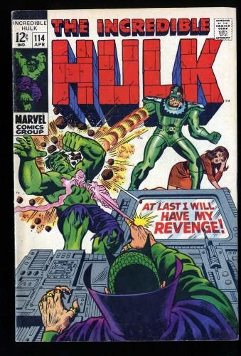 Incredible Hulk #114 FN- 5.5