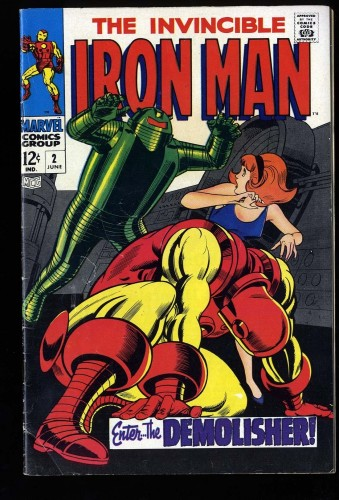 Iron Man #2 VG/FN 5.0