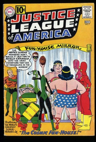Justice League Of America #7 VG 4.0