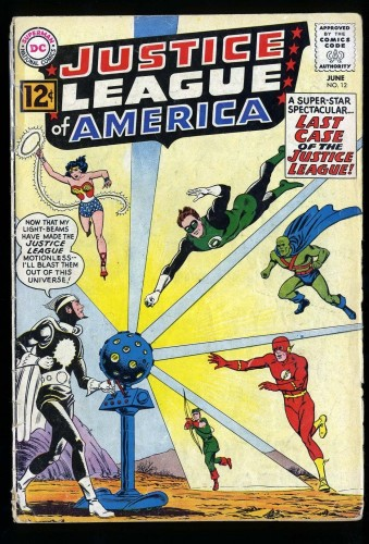 Justice League Of America #12 GD 2.0