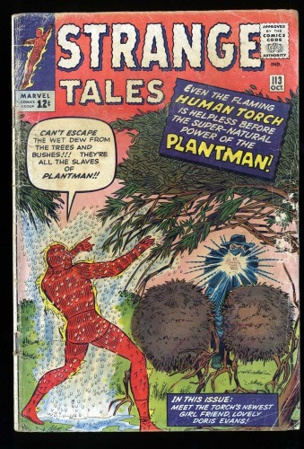 Strange Tales #113 GD 2.0