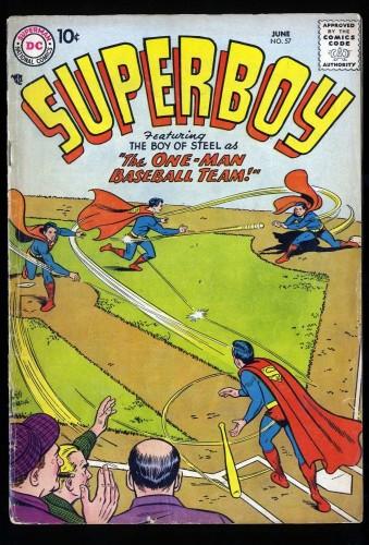 Superboy #57 VG 4.0