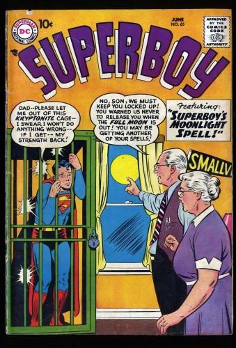 Superboy #65 VG+ 4.5