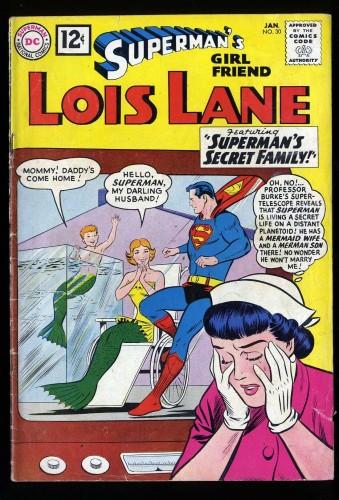 Superman's Girl Friend, Lois Lane #30 VG+ 4.5