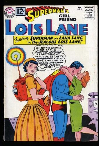 Superman's Girl Friend, Lois Lane #31 VG 4.0