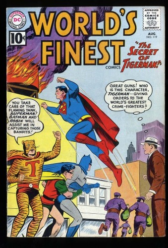 World's Finest Comics #119 VG+ 4.5