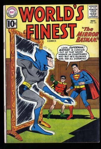 World's Finest Comics #121 FN- 5.5