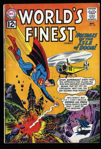 World's Finest Comics #125 VG+ 4.5