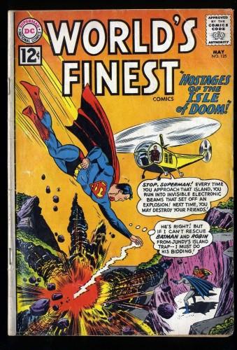 World's Finest Comics #125 GD/VG 3.0