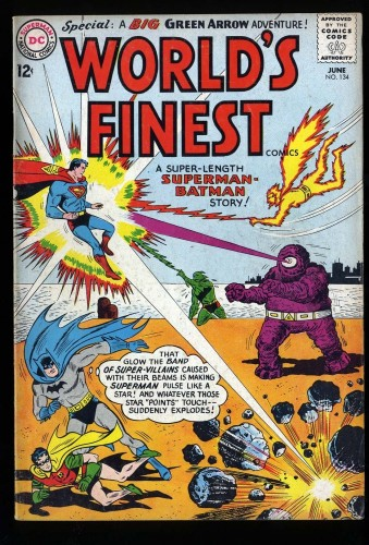 World's Finest Comics #134 VG 4.0