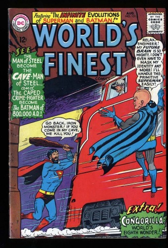 World's Finest Comics #151 FN 6.0