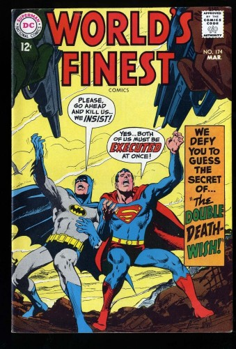 World's Finest Comics #174 FN+ 6.5