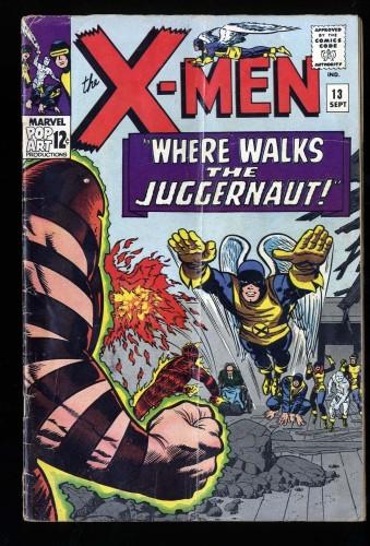 X-Men #13 VG- 3.5