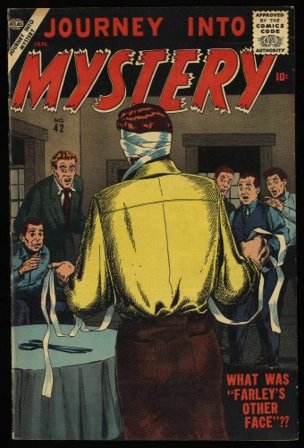 Journey Into Mystery #42 VF 8.0 Off White Circle 8