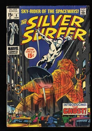 Silver Surfer #8 VG 4.0