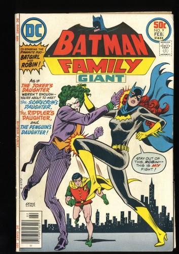 Batman Family #9 VG+ 4.5