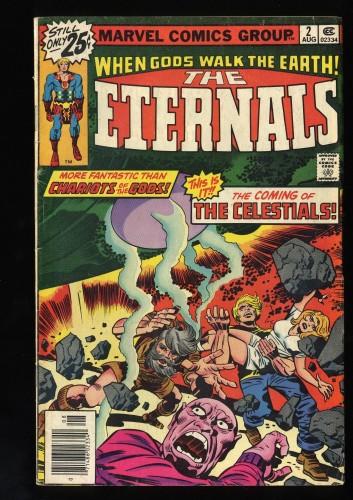 Eternals #2 VG- 3.5