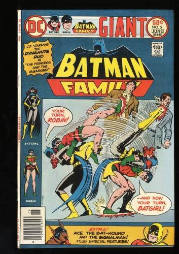 Batman Family #5 VF 8.0