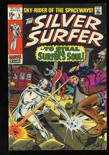 Silver Surfer #9 VG/FN 5.0