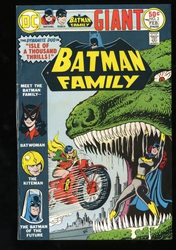 Batman Family #3 FN/VF 7.0
